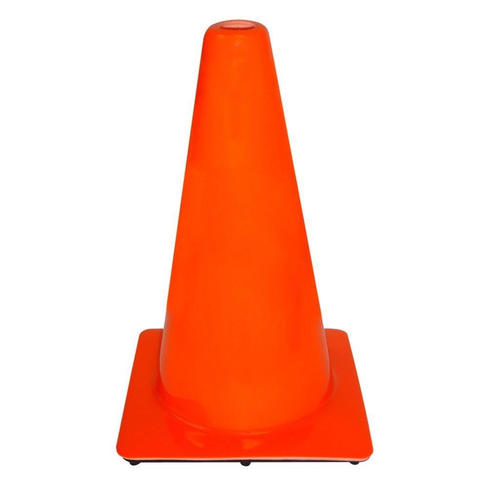 "18"" TRAFFIC CONE-SAFETY FLAG"