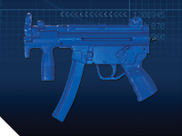 MP5 BLUE GUN-RING'S MANUFACTORING
