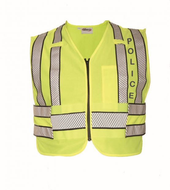 EL PASO POLICE HI VIZ SAFETY VEST WITH POLICE MARKING-LAT