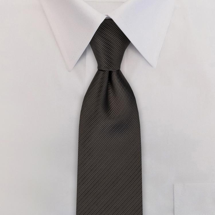 Russell EC4 Grey<br>Four-In-Hand Necktie-SB