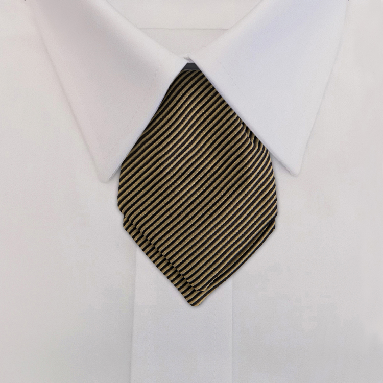 Russell EC3 Gold<br>Pointed Mini Ascot-SB