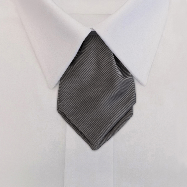 Russell EC4 Grey<br>Pointed Mini Ascot-SB