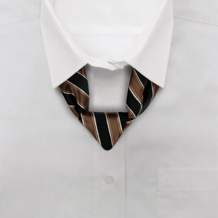 Tiramisu FD1 Brown/Black/Taupe<br>Knotted Loop-SB