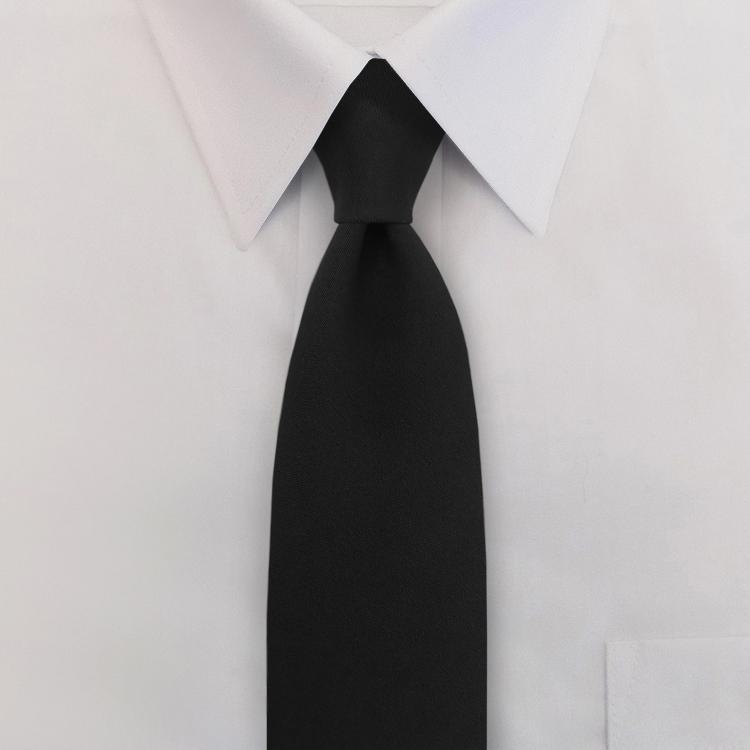 "3"" Polyester Clip-on Necktie-SB"