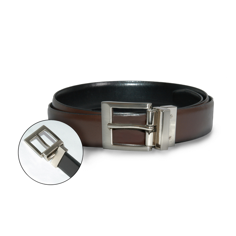 Reversible Leather Dress Belt-SB