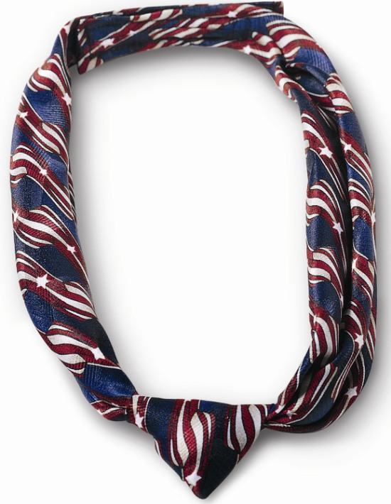 USPS Clerk Stars & Stripes Knotted Loop-SB