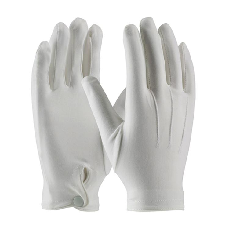 Men's Nylon Dress Gloves<br>with Wrist Snap-SB