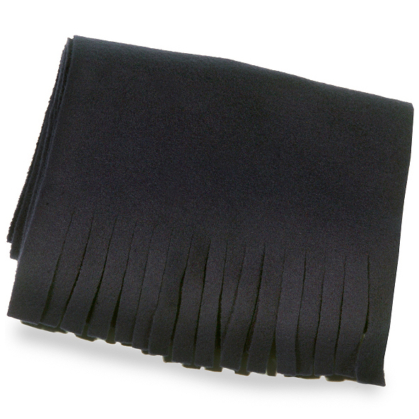 Fleece Scarf with Cut Fringe-SB