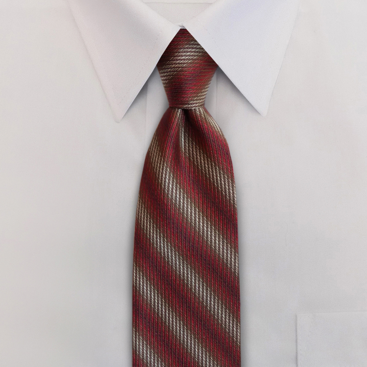 Seasons Fall Red #ZB2 Four-In-Hand Necktie-SB