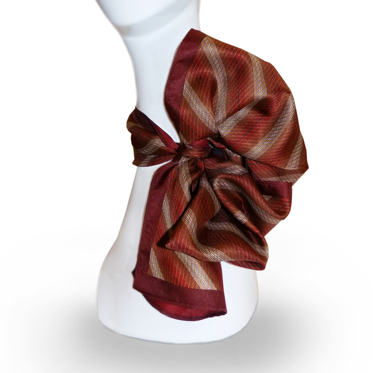 "Fall Red Seasons 10""x54"" Oblong Scarf-SB"