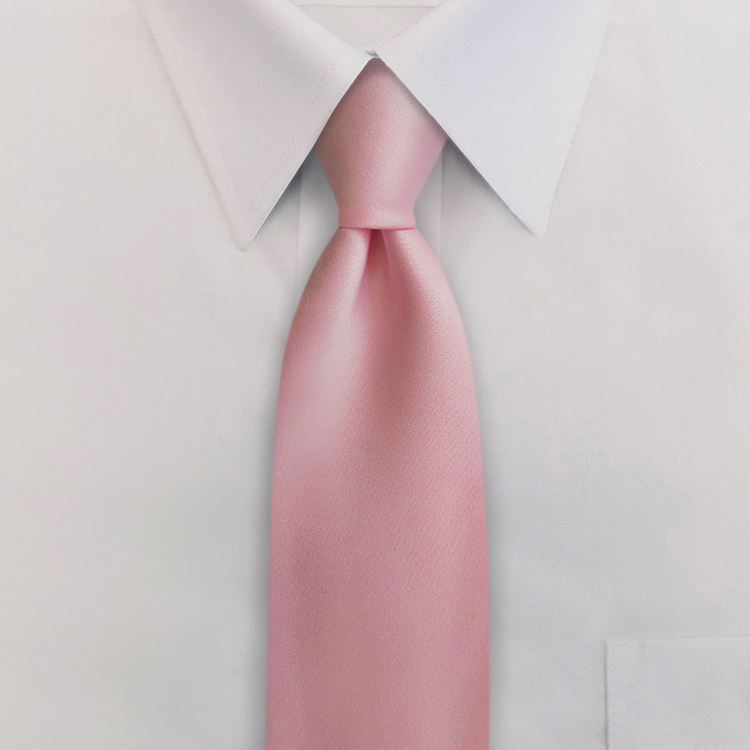 Issues Awareness Pink #MD1<br>Four-In-Hand Necktie-SB
