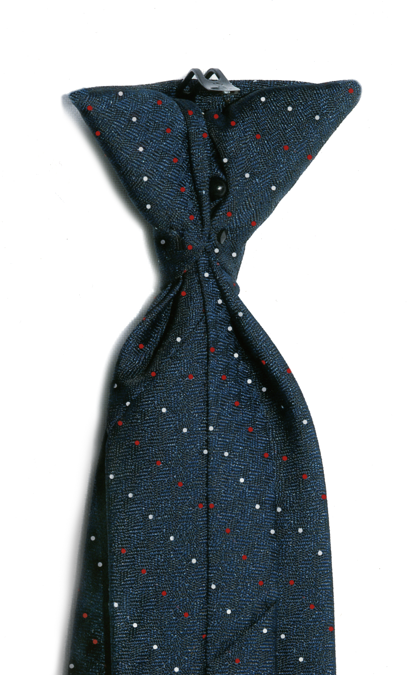 USPS Letter Carrier Pindot Clip-On Necktie with Buttonholes-SB
