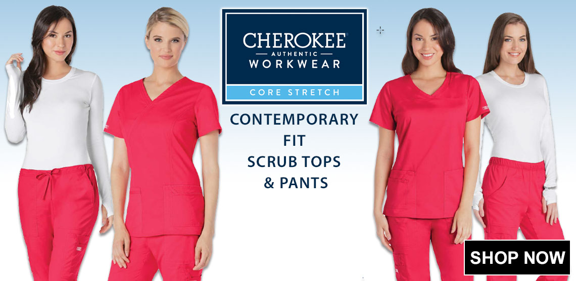 Click here for Cherokee Work Wear