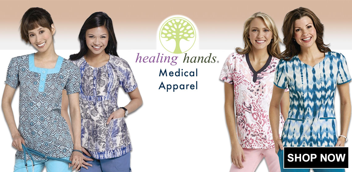 Click here for Healing Hands Scrub Uniforms