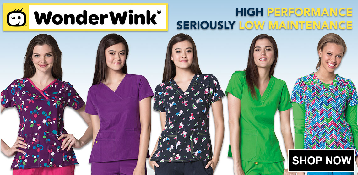 Click here for Wonder Wink scrub uniforms