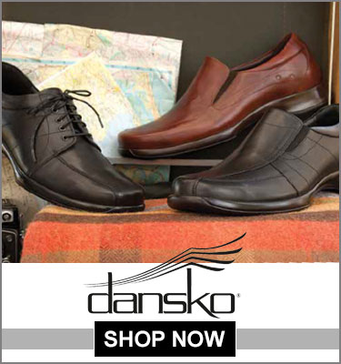 Click here for Dansko footwear