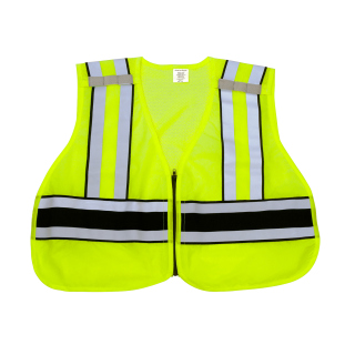 ANSI Class 2 Breakaway Safety Vest (NO PRINTING) - Imported-Snap N Wear