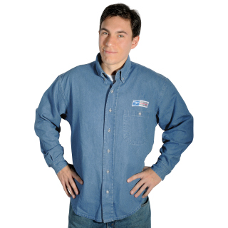 Postal Denim Shirt Long Sleeve - Imported-
