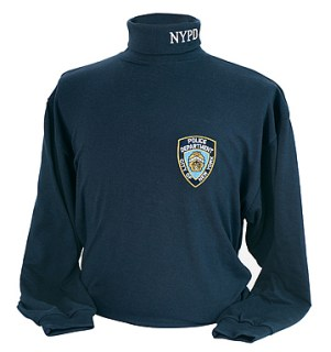 NYPD Turtle Neck Shirt - Imported