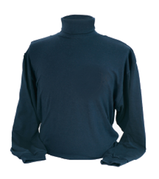 Mock Turtle Neck Shirt without Embroidery - Imported-
