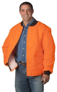 Heavy Thermal-Lined Quilted Jacket - Domestic-