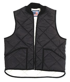 Heavy Thermal-Lined Quilted Vest - Domestic-