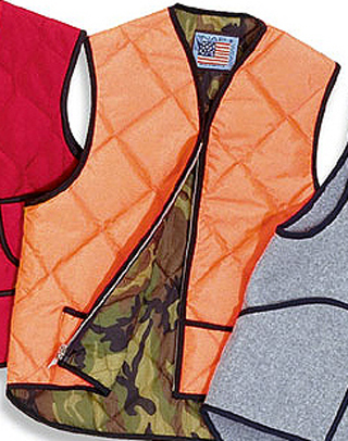 Quilted Hunting Vest - Domesuc