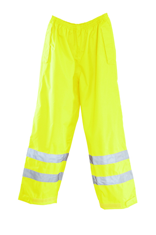 "ANSI Class ""E"" Compliant Waterproof Rain Pants - Imported"