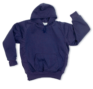 Thermal-Lined, Hooded Pullover Sweatshirt - Domestic-