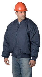 Bomber Jacket with Epaulettes - Imported-