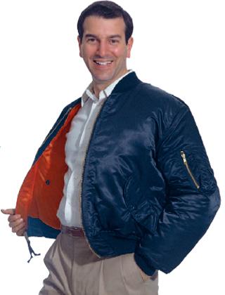 Reversible MA-1 Flite Jacket - Domestic-