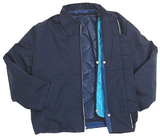 Poplin Jacket with Snap-Out Liner - Domestic-