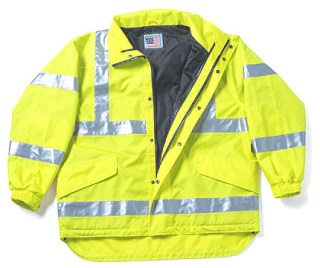 ANSI Class 3 Compliant Outer Jacket - Imported-Snap N Wear