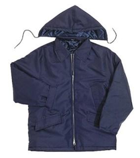 Nylon Parka with Zip-Off Hood - Domestic-