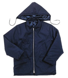 Poplin Parka with Zip-Off Hood - Domestic-