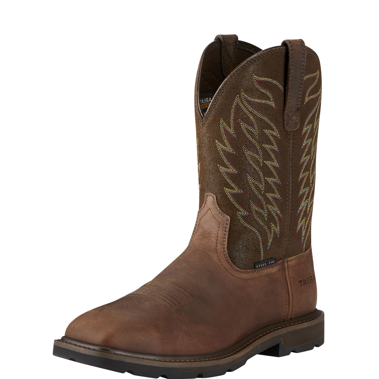 Grouondbreaker Steel Toe -Ariat