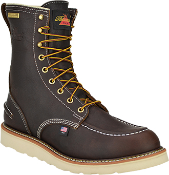 "8"" Steel Toe WP Wedge Sole Work Boot -Thorogood"