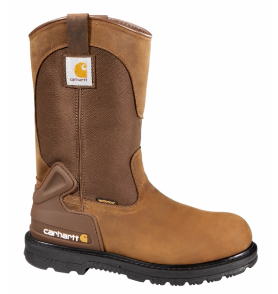 "11"" Bison Brown Safety Toe Wellington -Carhartt"