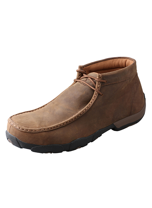 Steel Toe Driving Moccasin-