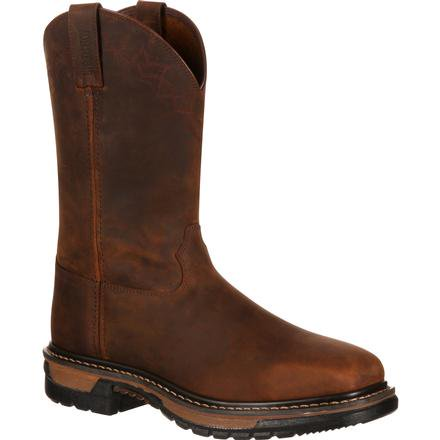 Rocky Original Ride Steel Toe Western Boot-