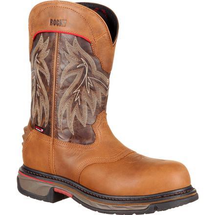 Rocky Iron Skull Comp Toe Waterproof Western Boot -Rocky