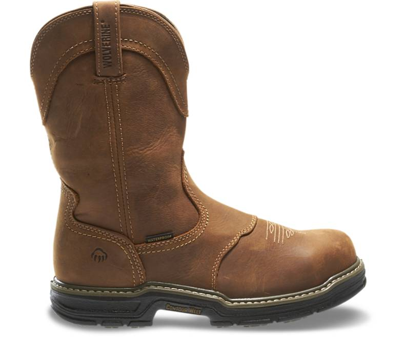 Anthem Western Wellington Steel Toe -Wolverine