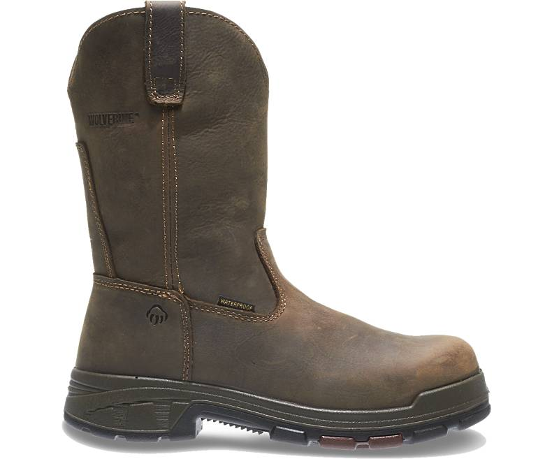 Carbor EPX PC Dry Waterproof Comp Toe EH Wellington -Wolverine
