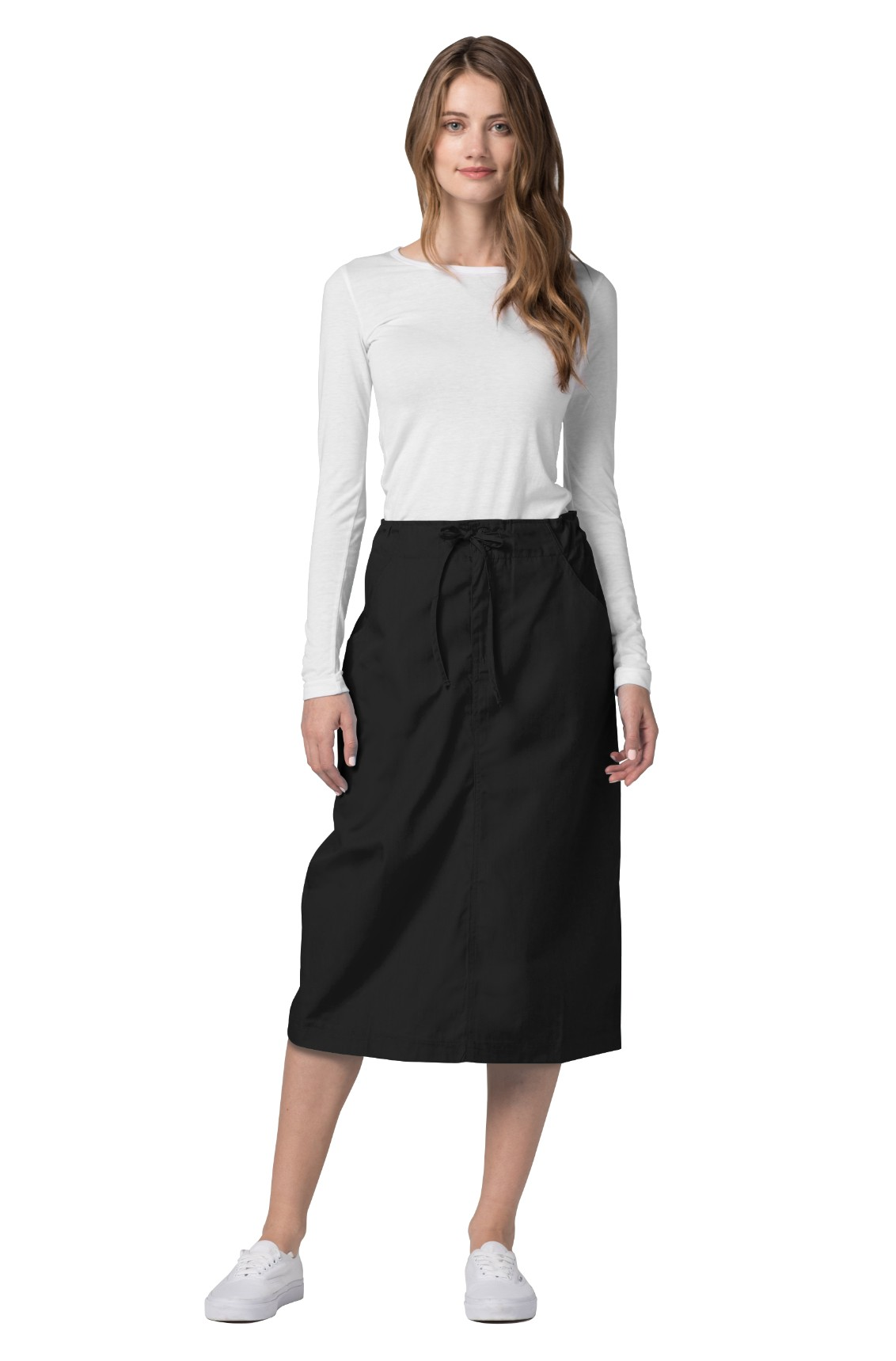 5c4e82f7fbb6 Buy Adar Universal Mid-Calf Length Drawstring Skirt - Adar Medical ...