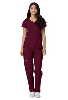 2632 Adar Universal Curved Pocket Glamour Top-Adar Medical Uniforms