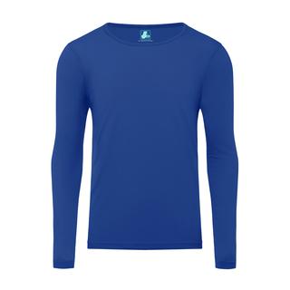 Adar Universal Mens Long Sleeve Comfort Tee-Adar Medical Uniforms