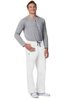 Adar Pop-tretch ens 7-Pocket Cargo Pants-Adar Medical Uniforms