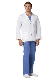 "ADAR Pop-tretch ens 31"" nap Front ab Coat-Adar Medical Uniforms"