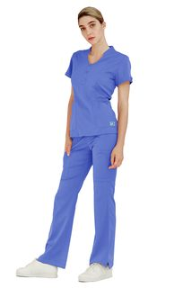 4206 Adar Indulgence Jr. Fit Women's Keyhole Top-Adar Medical Uniforms