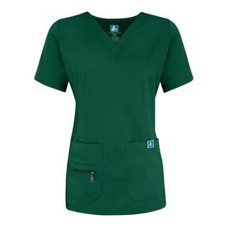 4212 Adar Indulgence Jr. Fit Enhanced V-neck Top-Adar Medical Uniforms